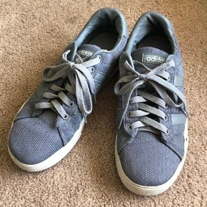 Gray Adidas Shoes